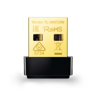 TP-LINK TL-WN725N Wireless N150 Nano USB Network Adapter – کارت شبکه USB بی سیم N150 Nano تی پی-لینک مدل TL-WN725N