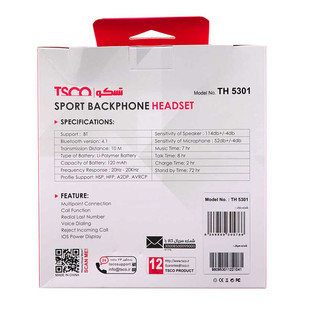 Tsco TH 5301 Bluetooth Headset..
