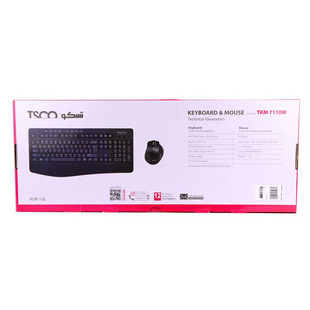 Tsco TKM 7110 Wireless Keyboard and Mouse.