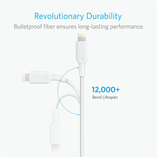 USB To Lightning Cable Anker A8433 – 1.8m