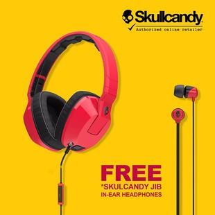skullcandy-crusher-s6scfy-059-with-bass-slider-headphones-freejib-in-ear-color-may-vary-redblack-1501368934-7389671-Skullcandy Crusher Headphone-هدفون اسکال کندی مدل Crusher | به فی