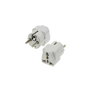 Bafo 3Prong to 2Prong TA-EU01-V1 Outlet Wall Plug Adapter