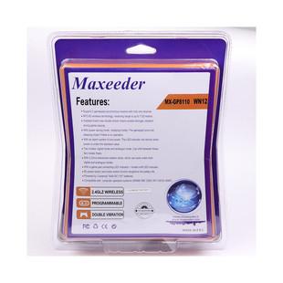 Maxeeder MX-GP8121 WN13 Double Wireless Gamepad With Shock..