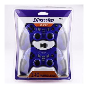 Maxeeder MX-GP8121 WN13 Double Wireless Gamepad With Shock1