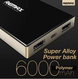 پاور بانک ريمکس پرودا مدل Superalloy RPP-30 با ظرفيت 6000 ميلی آمپر ساعت