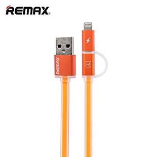 کابل تبديل USB به microUSB و لايتنينگ ريمکس