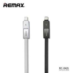 کابل تبديل USB به microUSB و لايتنينگ ريمکس مدل Strive RC-042t