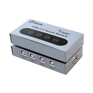 دیتا سوئیچ پرینتر 4 پورت USB دیتک مدل DTECH DT-8341