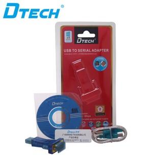 بسته بندی تبدیل USB به RS232 با چیپ FTDI دیتک Dtech DT-5010 USB 2.0 to RS232 Adapter With FTDI Chip Packing