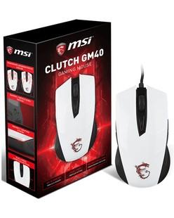 ماوس گیمینگ ام اس آی مدل Clutch GM40