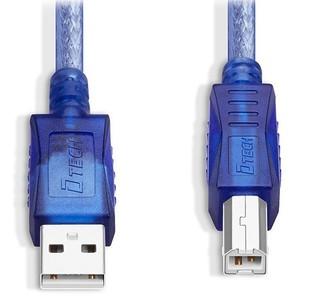 کابل پرینتر 3 متری USB 2.0 دیتک مدل DT-CU0094
