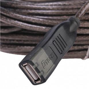 کابل افزایش طول USB 2.0 دیتک مدل DT-5037 به طول  10 متر
