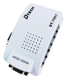 مبدل VGA به AV دی تک مدلDTECH DT-7001