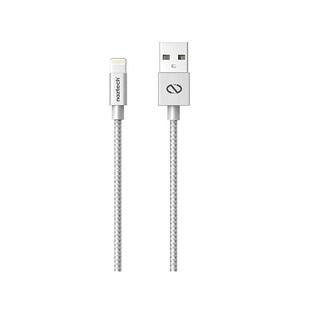 کابل تبديل USB به لايتنينگ نزتک مدل Braided طول 1.2 متر