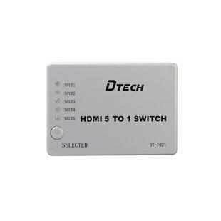 سوییچ HDMI پنج پورت Dtech DT-7021