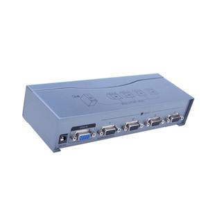 اسپلیتر VGA چهار پورت با کیفیت 500 مگاهرتز Dtech DT-7504