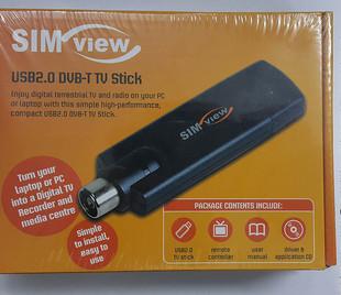 Sim View USB 2.0 DVB-T TV Stick