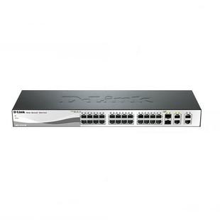 D-Link DES-1210-28 28-Port 10/100Mbps Web Smart Switch With 4 Gigabit Ports