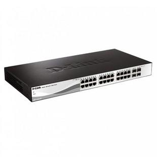 D-Link DGS-1210-28 28-Port Gigabit WebSmart Switch with 24 UTP and 4 SFP Ports