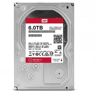 Western Digital Red Pro WD6002FFWX Internal Hard Drive - 6TB