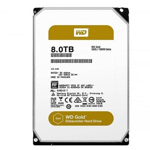 Western Digital Gold WD8002FRYZ Internal Hard Drive - 8TB