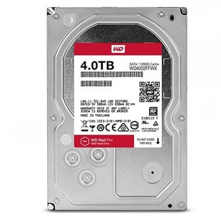 Western Digital Red Pro WD4002FFWX Internal Hard Drive - 4TB