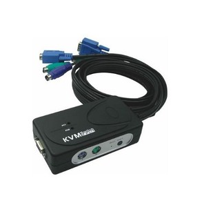 Faranet PS/2 2port KVM Switch With Cable