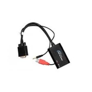 1-مبدل HDMI به VGA با قابليت انتقال صدا با کیفیت HD مدل 3746-2180 فرانت