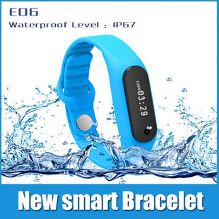 Sports Bracelet E06 with Touch OLED Smart