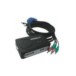 Faranet USB 2 KVM Switch PS/2 port with cable
