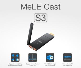 دانگل انتقال تصویر موبایل به تلویزیون Mele Cast S3 Hdmi Dongle - ملکست