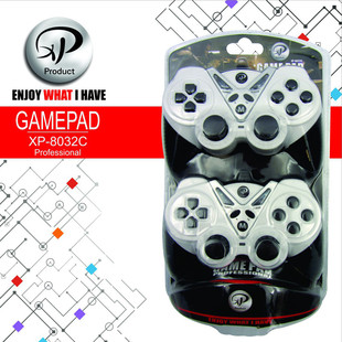XP Products8032C Gamepad Pack of 2