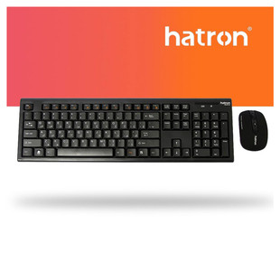 Hatron HKCW130 Wireless Keyboard And Mouse