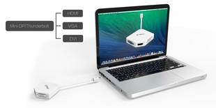 مبدل Mini DisplayPort به VGA/HDMI/DVI اوريکو DMP-HDV3