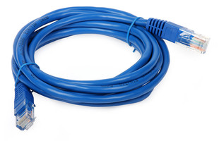 کابل شبکه CAT6 بافو به طول 1 متر