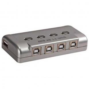 دیتاسوئیچ اتوماتیک 4 پورت V-net مدل USB