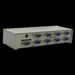 اسپلیتر 250mhz هشت پورت K-net plus مدل VGA