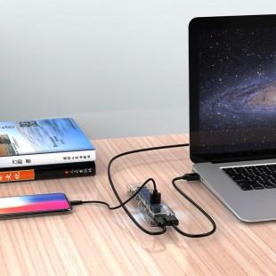 هاب 7 پورت USB 3.0 اوریکو مدل F7U-U3