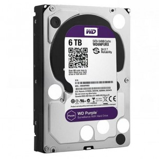 Western Digital NV Purple WD6NPURX Internal Hard Drive - 6TB