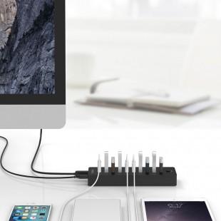 هاب 10 پورت USB3.0 اوریکو مدل P10-U3-V1