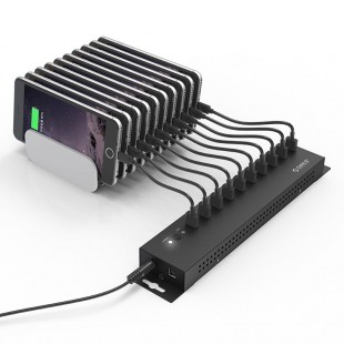 هاب USB صنعتی 10 پورت اوریکو مدل IH10P