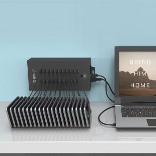هاب USB صنعتی 20 پورت اوریکو مدل IH20P