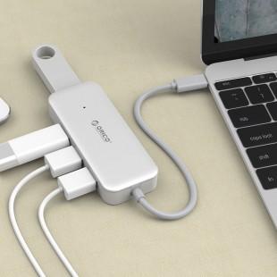 هاب USB-C چهار پورت اوریکو مدل TC4U-U3