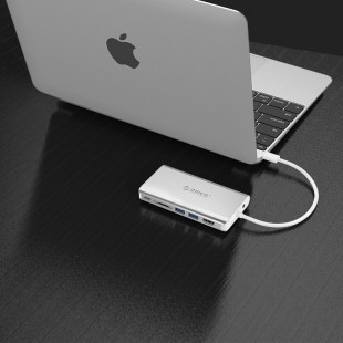 هاب 8 پورت USB 3.0 اوریکو مدل XC-304