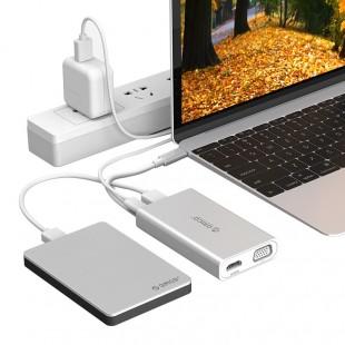 مبدل USB Type-C اوریکو مدل ADS2