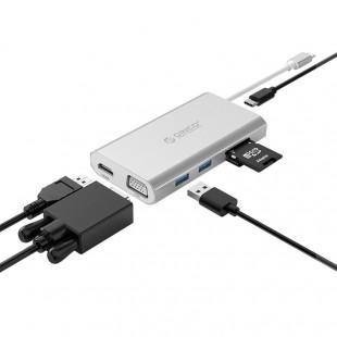 هاب 8 پورت USB-C اوریکو مدل ADS3