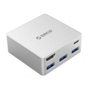 هاب پنج پورت USB-C اوریکو مدل CDHU3