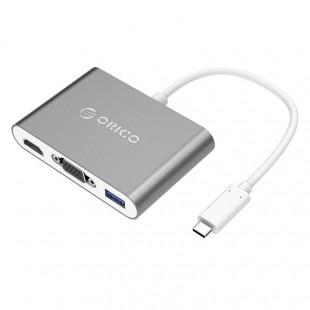 مبدل USB-C به USB/VGA/HDMI اوریکو مدل RCHV
