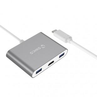 مبدل USB-C به USB/USB-C/HDMI اوریکو مدل RCH3A