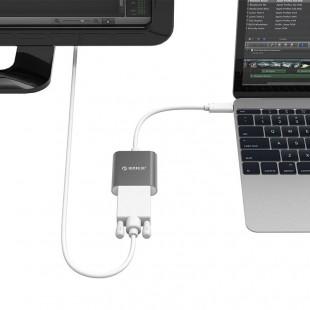 مبدل USB-C به VGA اوریکو مدل RCV